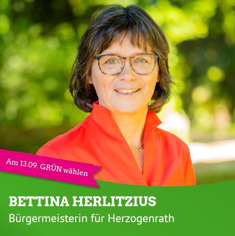 Bettina Herlitzius, Bürgermeisterin für Herzogenrath