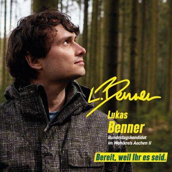 Lukas Benner, unser Direktkandidat für den Bundestag